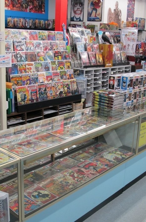 Store Tour | The Comic Book Shop in Wilmington, Delaware | Comic Book Trends | Scoop.it