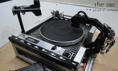 Could this desktop DIY cutting machine be the future of vinyl? | Music Industry News | Scoop.it