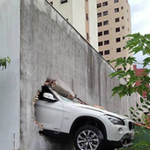 This BMW X1 Crashed Through A Parking Garage Wall In Brazil | Digital-News on Scoop.it today | Scoop.it