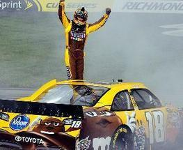 Kyle Busch looks to erase humiliation of Kansas with another dominating run at Richmond | 2013 NASCAR Sprint Cup Schedule | Scoop.it
