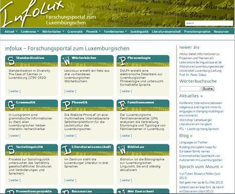 Infolux - Forschungsportal zum Luxemburgischen | Luxembourg (Europe) | Scoop.it