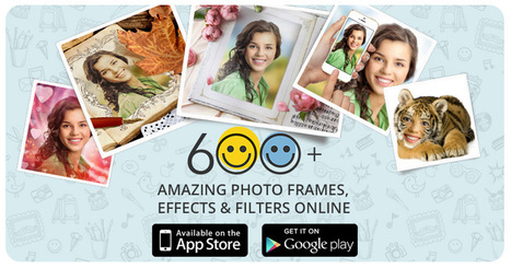 Online photo editor | Cool photo effects & frames | Pho.to | Around L-ICT | Scoop.it