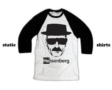 Heisenberg Long Sleeve Shirt   Breaking Bad Baseball Shirt   T-Shirt   Scoop.it
