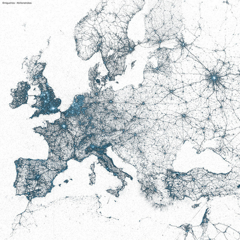 The arteries of the world, in Tweets | big data | Scoop.it