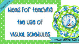 Ideas for Teaching the Use of Visual Schedules | Visual Supports | Scoop.it