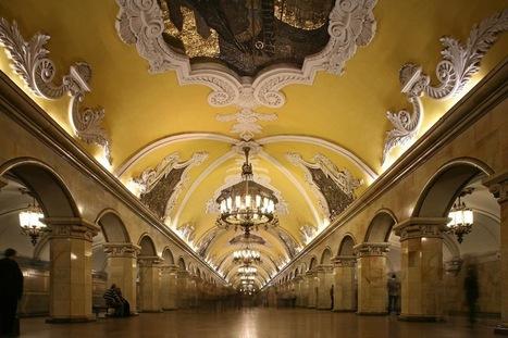 Moscow metro launches virtual library with QR-codes | News | Le numérique pour la conservation du patrimoine | Scoop.it