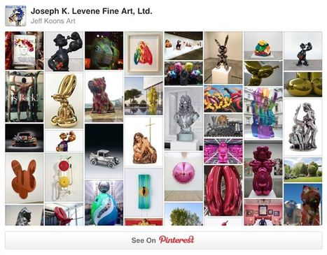 Follow Jeff Koons Art Pins on Pinterest | Pinterest | Scoop.it