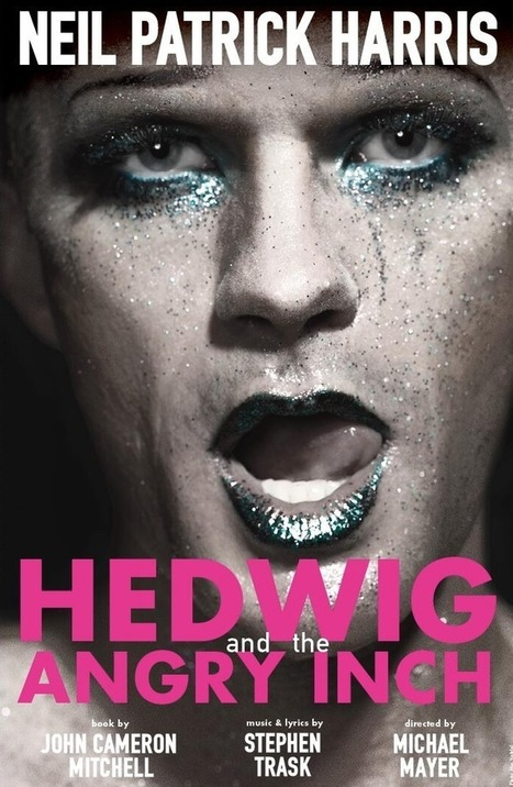 First Look! Neil Patrick Harris Tweets Out First Look at HEDWIG Artwork! | Broadway & other NYC theater | Scoop.it