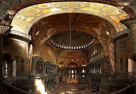 #127 ❘ Une église construite sur l'ancien temple d'Artémis, qui devint la basilique Sainte-Sophie de Constantinople devenue elle-même une mosquée puis enfin un musée ! | # HISTOIRE DES ARTS - UN JOUR, UNE OEUVRE - 2013 | Scoop.it
