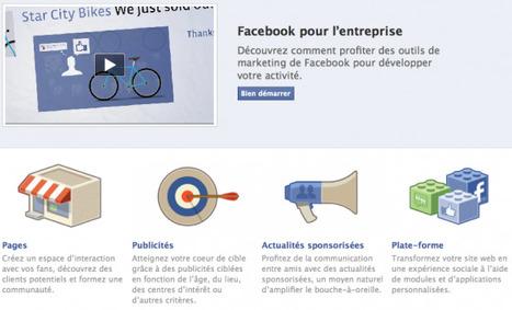 Facebook Lance «Facebook Pour L'entreprise», Une Nouvelle Plateforme Pour Les Professionnels | Veille_Curation_tendances | Scoop.it