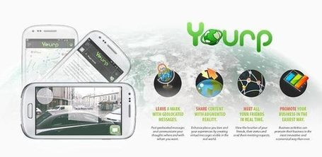 Android | Realtà Aumentata Social Con YOURP Per ANDROID | Digitalclik | Scoop.it