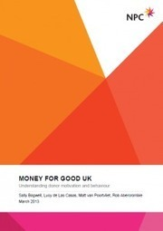 Money for Good UK - NPC | Donor Cultivation and Management | Scoop.it