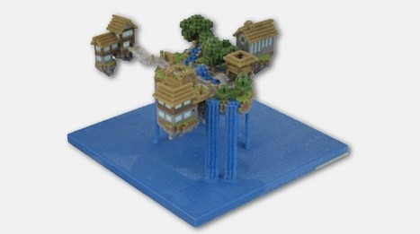 FigurePrints now immortalizing your Minecraft world with real-world replicas | New Digital Media | Scoop.it