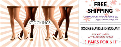 Citrusox - Shop Online Fashion Stockings and Sheer Stockings in Singapore | citrusox | Scoop.it