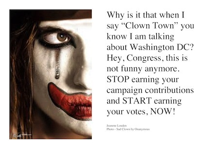 Not Funny Anymore, Clown Town | Coffee Party Feminists | Scoop.it