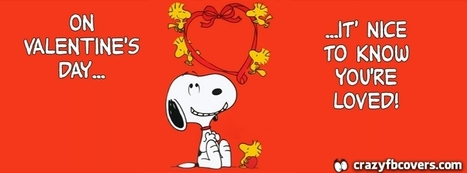 Snoopy On Valentines Day Facebook Cover - CrazyFbCovers.com - Facebook Covers & Facebook Profile Covers | Crazy Fb Covers | Scoop.it