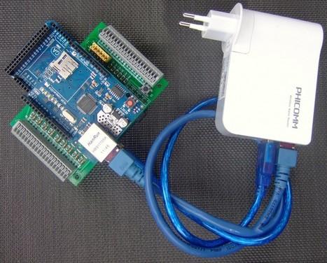 Homeduino …der universelle LAN/WLAN-Arduino für die Hausautomation mit I/O-Shield 1.0 | STALL | embedded fun | Scoop.it