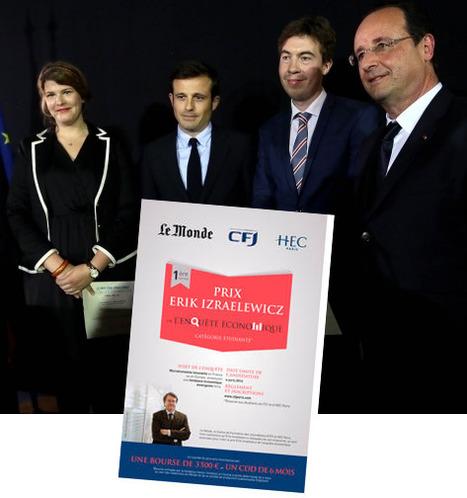 Le prix Erik Izraelewicz remis à trois enquêtes journalistiques | DocPresseESJ | Scoop.it