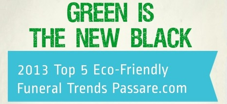 Green is the New Black - Infographic - Passare.com Blog | End of Life Management | Scoop.it