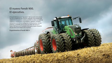 Tractores | Fendt 900 Vario - | maquinaria agrícola | Scoop.it