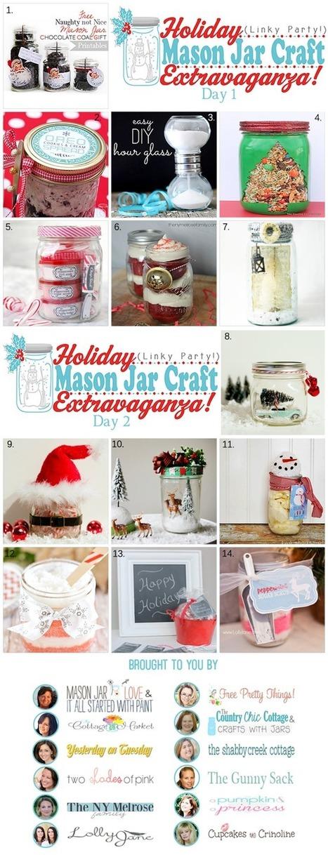 Mason Jar Link Party! | #thingsilove @dealiciousitalian.com | Scoop.it