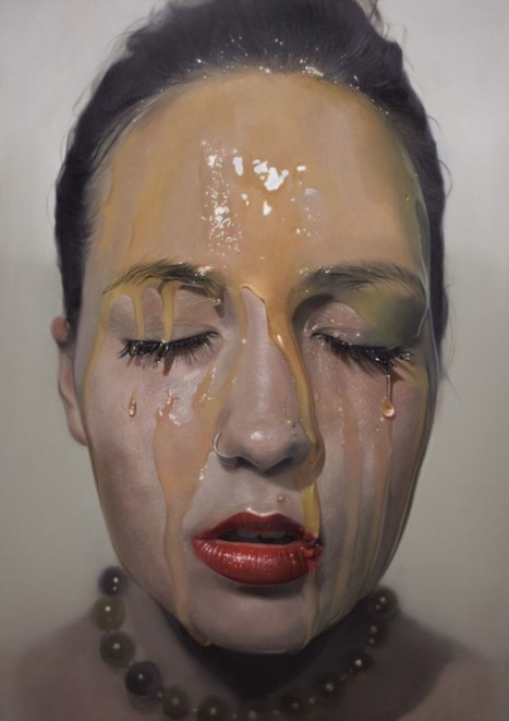 German Artist Creates Photorealistic Oil Paintings | Strange days indeed... | Scoop.it