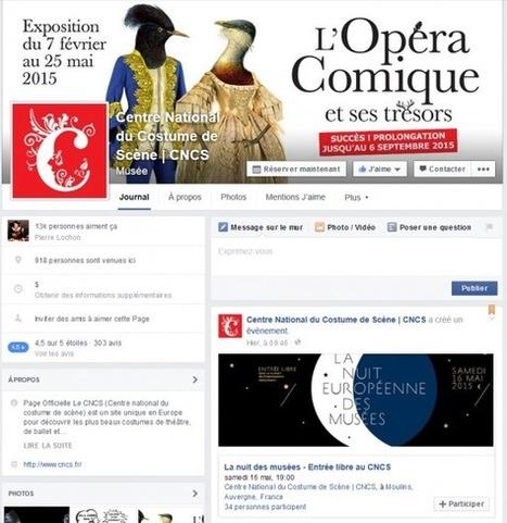 Clic France / Top 40 des musées et monuments français sur facebook et twitter (7 mai 2015): Les Champs Libres, le CNCS et le Palais de la Découverte en forte hausse | Clic France | Scoop.it
