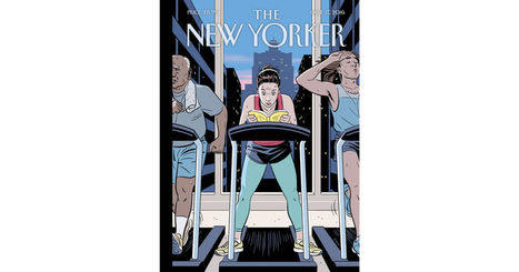 "Cover Story: R. Kikuo Johnson's ""The Finish Line"" - The New Yorker 