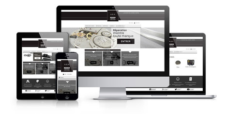 Site internet Magento Commerce pour l'Atelier Général Horloger | Création sites internet Drupal & Magento made in Gers - Toulouse | Scoop.it