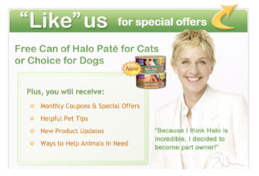 FREE Can of Halo Pate for Cats or FREE Can of Spot's Choice for Dogs! | Saving Money and Being Frugal | Scoop.it