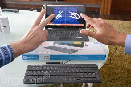 Un clavier HP avec Leap Motion pour taper sans taper | 4eme | Scoop.it