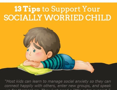 13 Tips to Support Your Socially #Worried Child | GoZen! | Socio-Emotional Learning | Scoop.it