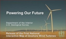 Interior Releases First National Interactive Map of Onshore Wind Turbines | All Things Texas | Scoop.it