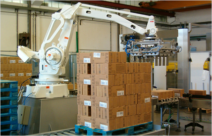 Case Palletizer | Robotic Palletizer - Clearpack.com | Clearpack Packaging | Scoop.it