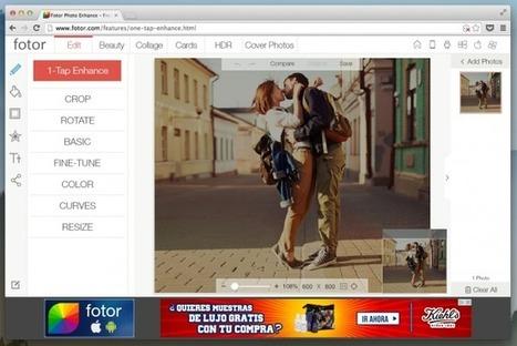 Fotor, el editor fotográfico multiplataforma para los que no tienen suficiente con Instagram | WEB 2.0 | Scoop.it