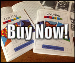 Coloring Squared - Pixel Art and Math | Friday Fun for Elementary Education Students | Scoop.it