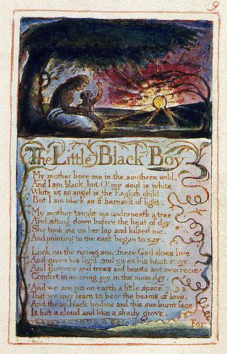 """The Little Black Boy"" by William Blake - Alzakera Education | William Blake | Scoop.it"