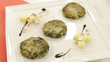 Hamburguesa vegetal de espinaca y patata | recetitas | Scoop.it