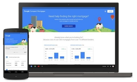 Google Launches Mortgage Shopping Tool In California, More States Coming Soon | Real Estate Plus+ Daily News | Scoop.it