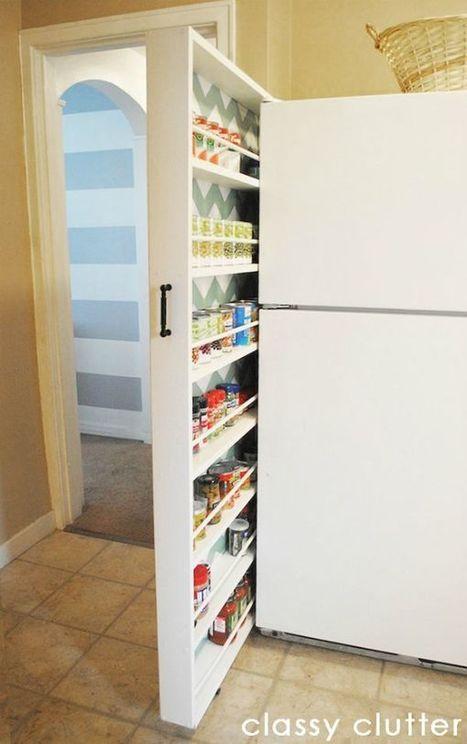 Soluciones para falta de espacio en una cocina | Deco! | Scoop.it