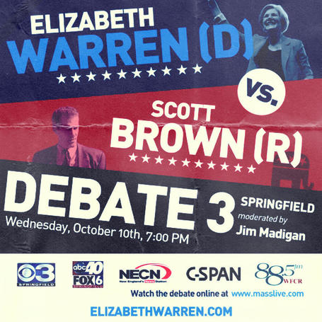 "photo: ""Scotto/E-Dubs III: The Bloodfest Out West"" Debate #3 Event Poster 