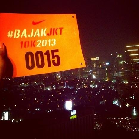 .@fastynabila   #BajakJKT training!  31fl vertical run with Allyson Felix #nike   BajakJKT   Scoop.it