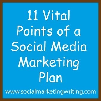 11 Vital Points Of A Social Media Marketing Plan | Social Marketing Strategy | Scoop.it