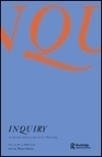 Taylor & Francis Online :: Inquiry: An Interdisciplinary Journal of Philosophy - Special issues | Examining Philosophy | Scoop.it