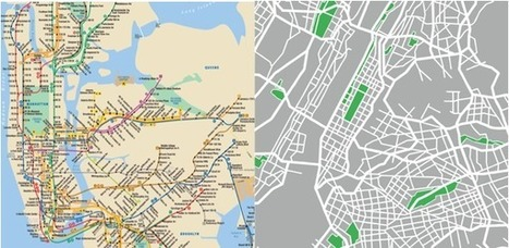 Are Our Transit Maps Tricking Us? | visual data | Scoop.it