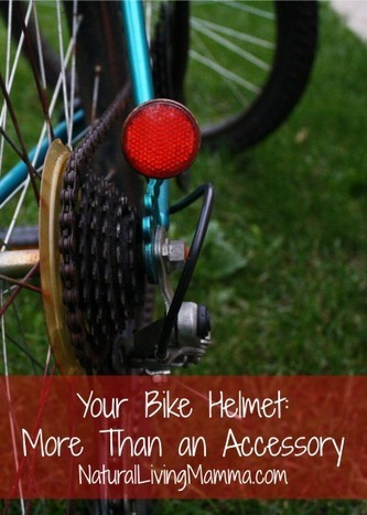 Your Bike Helmet: More Than an Accessory - Natural Living Mamma | Science is our friend | Scoop.it