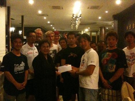 28,222 Baht donated Thailand Flood Relief by Japanese, Australian, New Zealand & German Supercross Riders | FMSCT-Live.com | Scoop.it
