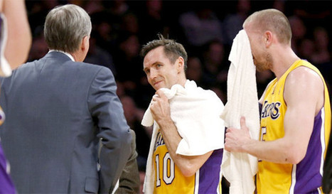 Lakers' Steve Nash confronts age-old issue: His body's breaking down | sports | Scoop.it