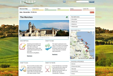 The Marches on ITALIA Official Website for Tourism in Italy | Le Marche another Italy | Scoop.it
