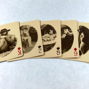 Vintage Mature Male Nude Playing Cards | Sex History | Scoop.it
